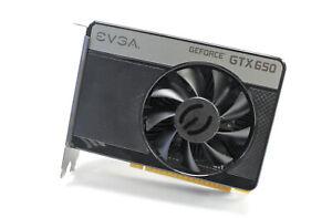 EVGA GeForce GTX 650 1GB GDDR5 DVI Mini HDMI Graphics Card 01G-P4-2652-KR
