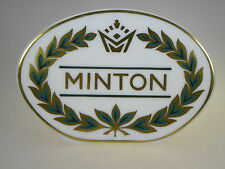 Minton Collection Display Sign Made in England