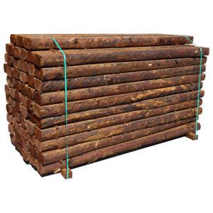 Rustic Log Garden Sleeper    2.4m x 120mm x100mm