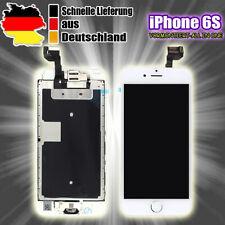 Für Apple iPhone 6S Display RETINA LCD VORMONTIERT Komplett 3D Front Glas Weiß