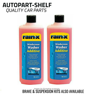 Rain X Washer Additive - 2 x 500ml
