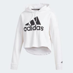 Adidas Women's Pullover Hoodie, White