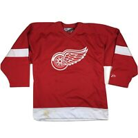 VTG Detroit Red Wings NHL Hockey Jersey Embroidered Logo by Pro Player Sz L