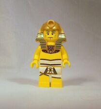 LEGO Series 2 Collectible Egyptian Pharaoh Minifigure with Headdress Genuine