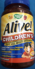 Nature's Way Alive Children's  Soft Jells Multi Vitamin 60 Vegetarian