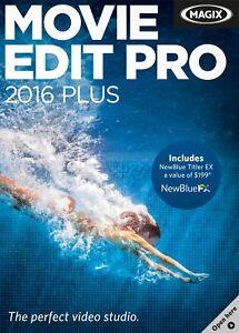 MAGIX Movie Edit Pro 2016 Plus (NEW)