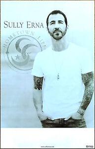 SULLY ERNA Hometown Life Ltd Ed New RARE Tour Poster +BONUS Rock Poster GODSMACK