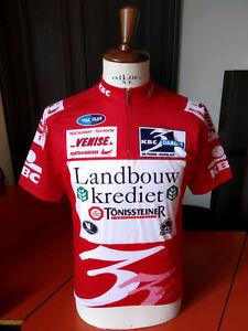 Race-worn 2007 Driedaagse De Panne vintage cycling jersey maglia ciclismo Kuyckx