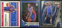Lot of (3) Sekou Doumbouya, Including Optic Blue Velocity, Contenders RC & Prizm