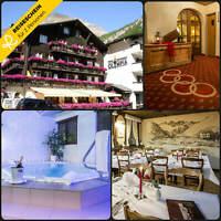 Kurzurlaub Schweiz Saas-Almagell 4 Tage 2 Personen Hotel Wellness Wochenende