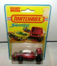 Matchbox Superfast No 24 Team Matchbox Red 8 Label MIB Blister Sealed