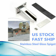 Floor Standing Stairs Balcony Pool Glass Spigots Post Balustrade Railing Clamps