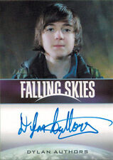 Falling Skies Season Two Autograph Card Dylan Authors as Jimmy Boland