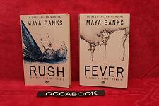 À Fleur de peau, Tome 1 et 2 - Grand format - Maya Banks