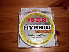Yo Zuri Hybrid Fluorocarbon Ultra Soft Fishing 2 lb Line - 275 Yards Mist Green