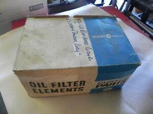 CHRYCO PARTS OIL FILTER #2459985 1958-1963 RAMBLER 6CYL 62 PONT/CHEVY 6 CYL NOS
