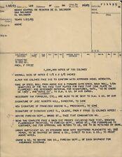 El Salvador - Original Letter order to print 1000000 notes dated 27-1-1965
