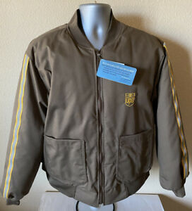 NEW Vintage United Parcel Service UPS Jacket 1864 Men's 46-48 XL Thinsulate