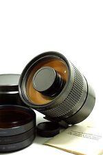 MC Rubinar 500mm f/5.6 MACRO M42 mount Rare compact mirror lens