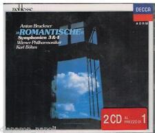 Bruckner: Symphony (Sinfonie) No 3 & 4 / Bohm, Wiener  - CD Decca