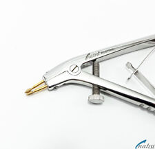Teleskopzange diamantiert pins 12 cm Telegrip Konuszange Haltezange Krone Dental
