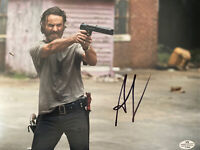 "Andrew Lincoln signed autograph 8x10 Photo ""Rick"" Walking Dead COA"