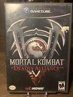 Mortal Kombat: Deadly Alliance (2002) - Nintendo Gamecube No Manual.