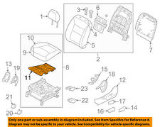 KIA OEM 2012 Sorento Driver Seat-Seat Cushion Htr Left 881901U030