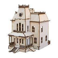 Crafts - Bates Motel House - Raw Wood Model Kit
