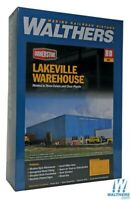 Walthers 933-2917 Lakeville Modern-Style Warehouse Kit HO Scale Train