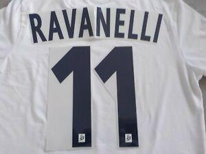 Flocage RAVANELLI n°11 - OM  MARSEILLE - maillot France Patch Football
