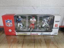2007 Mcfarlane NFL Tomlinson ,Johnson ,Alexander 3 Pack Set