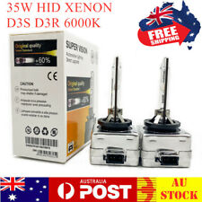 D3S D3R 6000k 35W HID Xenon Headlight Bulb Globes Replace for Philips for Osram