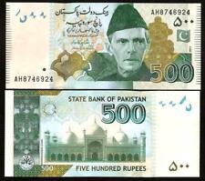 PAKISTAN 500 Rupees 2011 - UNC  - Pick 49Ac(1)