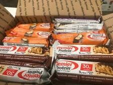 69 ASSORTED PREMIER PROTEIN HIGH PROTEIN BARS NO RESERVE LOOK ! 20-30 GR PROTEIN