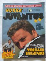 HURRA' JUVENTUS N. 4 - 1991 EUGENIO CORINI STEFANO TACCONI + FASCICOLO