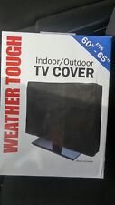 "60"" - 65"" WATERPROOF TV COVER for all flat panel, LCD, LED, plasma screens NEW"