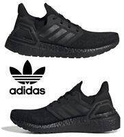 Adidas Ultraboost 20 Running Shoes Women's Casual Sneakers Athletic Black