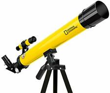 National Geographic 50/600 AZ Telescope with Mount and Tripod yellow 9101001