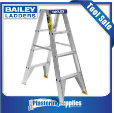 Bailey Ladder Pro 1.2m 4 Step Double Sided 150kg Aluminium FS13386