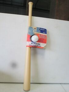 Vintage Extra Babe Ruth 30 Inch Plastic Bat and Ball