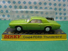 Vintage Dinky Toys 1419  - FORD  Thunderbird  Coupè  -  Superbe  / Mint / Neuf