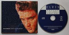 Elvis Presley Artist Of The Century Rare 1999 Promo Digipack CD
