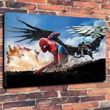 "Spiderman Film Ritorno a Casa Wall Art Stampa Foto su tela A1.30""x20""x 30mm"