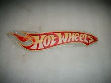 """HOT WHEELS RED LINE Large 16"""" Metal Hot Wheels SIGN ManCave Wall Decor Shop"""