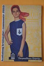 Versandhaus Leipzig Katalog Frühjahr - Sommer 1965, 108 Seiten, Beilagen