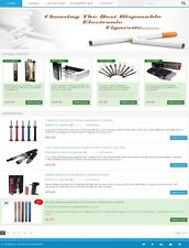 *ELECTRONIC* *CIGARETTE* WEBSITE FOR SALE! with PRODUCTS & DROPSHIPPING SOURCE