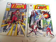 LOT 2 * VALIANT COMICS *THE H.A.R.D.  CORPS *1993 # 7.  &  # 8.   F/F