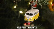 Volkswagen T2 Bus Custom Christmas Ornament VW Van 1/64 Kombi Splitty Camper T1