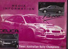 1995 TOYOTA CELICA & PASEO Australian Media Information Press Kit